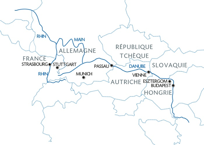 Croisière Le beau Danube Bleu (formule port/port) - 7