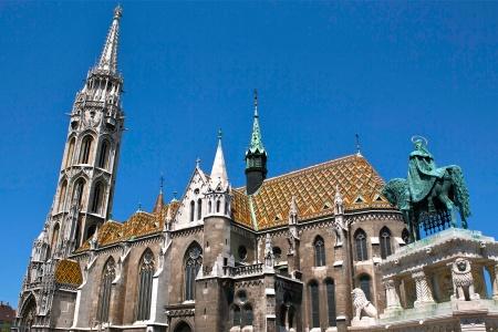 Cathédrale de Budapest en Hongrie