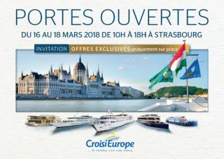 Découvrez nos portes ouvertes CroisiEurope  à Strasbourg