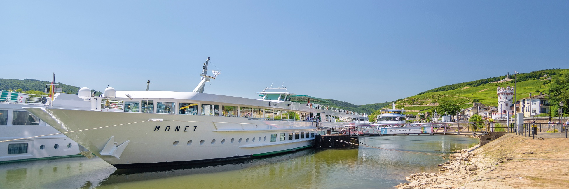 MS Monet sur le Rhin et le Danube