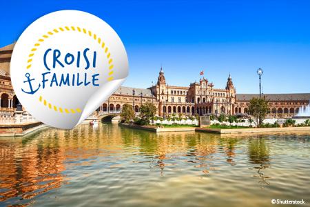 Croisière famille - L'Andalousie - Traditions, gastronomie et flamenco (formule port/port)