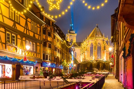Christmas markets in Alsace (port-to-port)