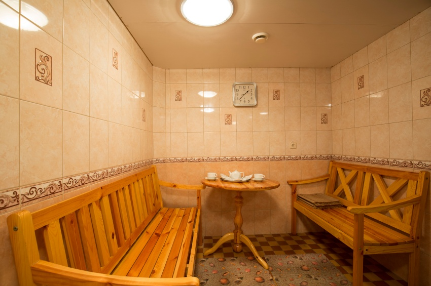 Sauna dans le Georgy Chicherin