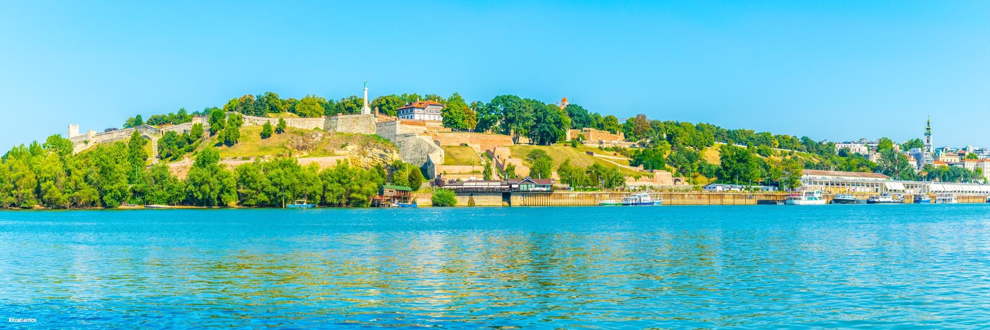Sava, Serbie