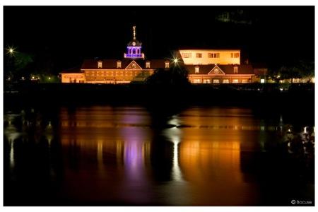 Abbaye de Collonges de nuit