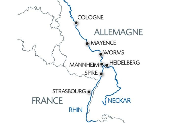 Croisière Histoire, traditions et ambiance rhénane (formule port/port) - 8