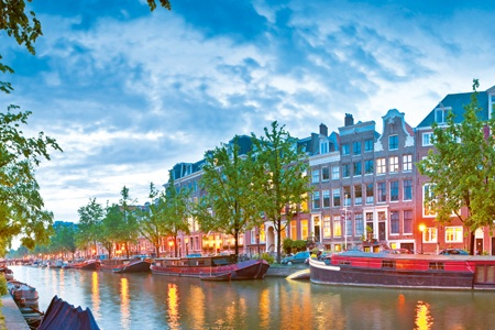 Cruise across Europe from Budapest to Amsterdam (port-to-port cruise)