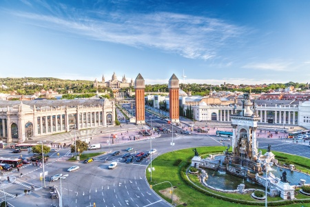 Barcelona to Malaga Following the footsteps of three wondrous Spanish artists¿Gaudi, Dali, and Picasso (port-to-port package)