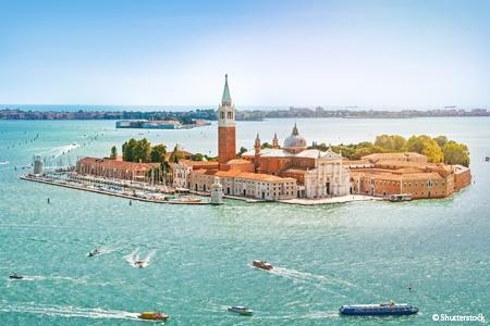 Venise, la lagune et le delta du Pô en Italie (formule port/port)