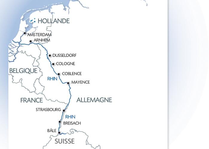 Croisière d'Amsterdam à Bâle : les trésors d'un fleuve mythique, le Rhin (formule port/port) - 11