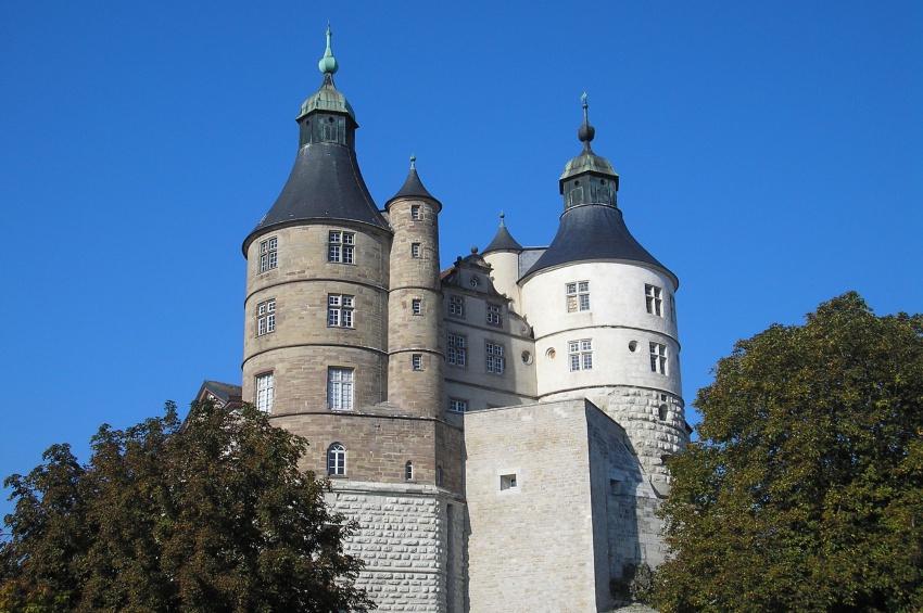 Château des Ducs de Wurtemberg à Montbéliard