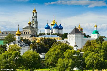 De la Volga à la Néva, de Moscou à Saint-Petersbourg. - 1
