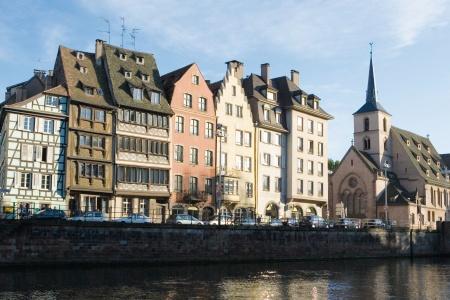 Ville de Strasbourg en France