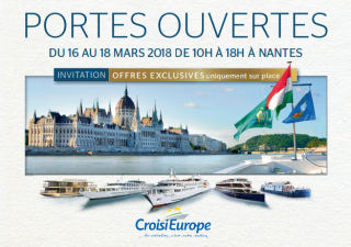 Découvrez nos portes ouvertes CroisiEurope à bord à Nantes