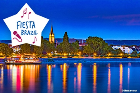 Week-end Spectacle sur le Rhin : Fiesta Brazil