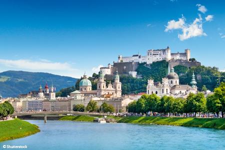 Le beau Danube Bleu et Salzbourg