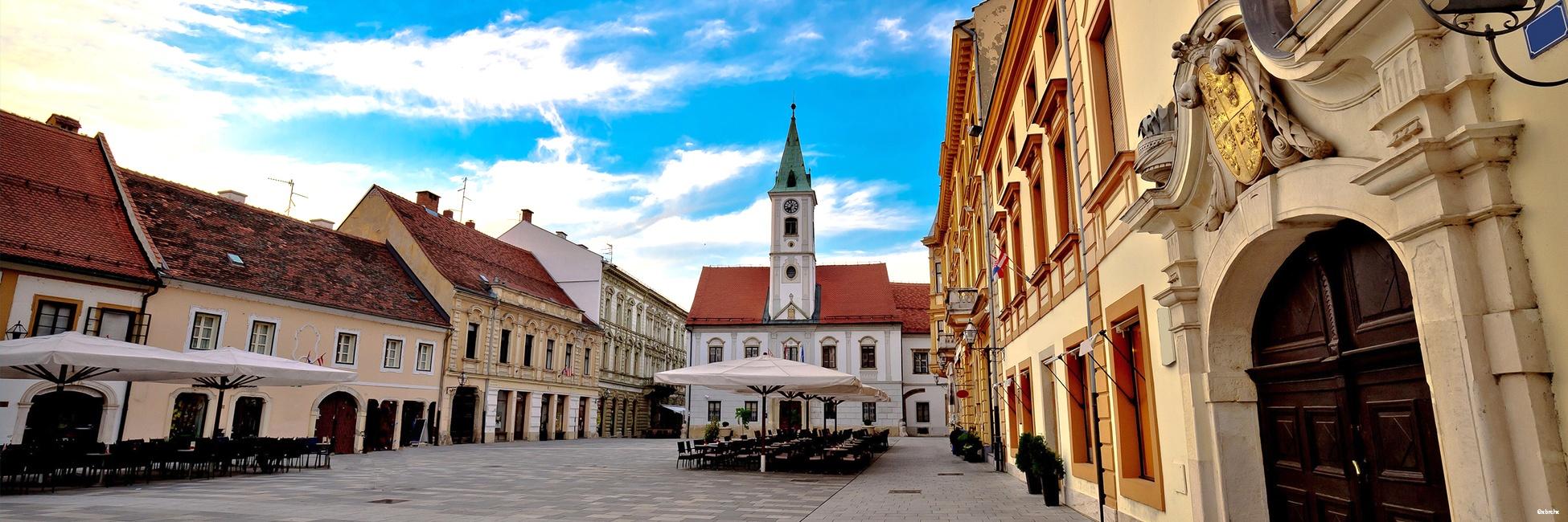 Varazdin, Zagorje en Croatie