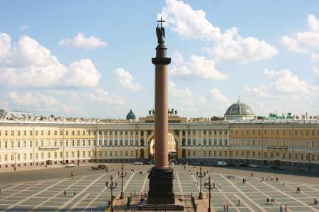 Place du palais à saint-Pétersbourg