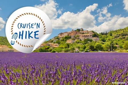 Hike through the Rhône Valley and the Provençal Rhône (port-to-port cruise)