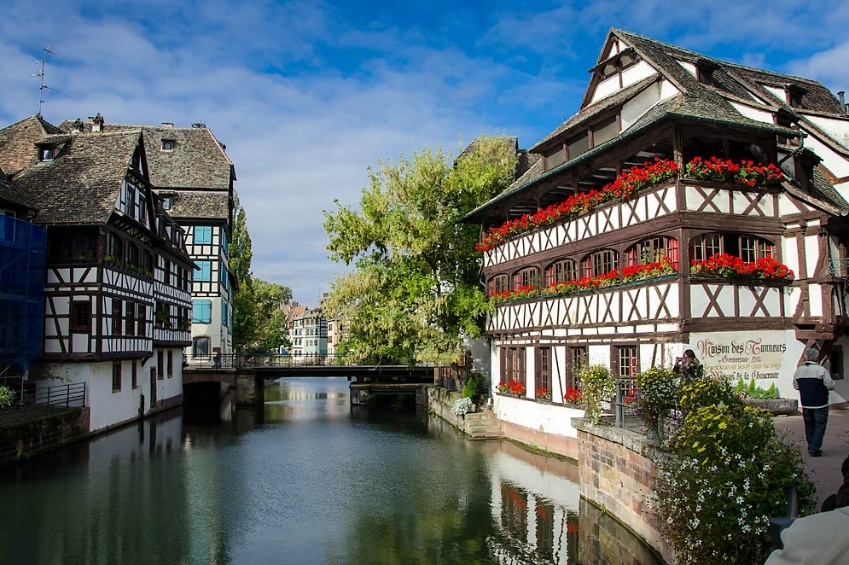 District of La Petite France in Strasbourg