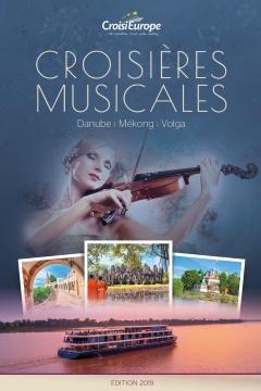 Brochure croisières musicales CroisiEurope 2019