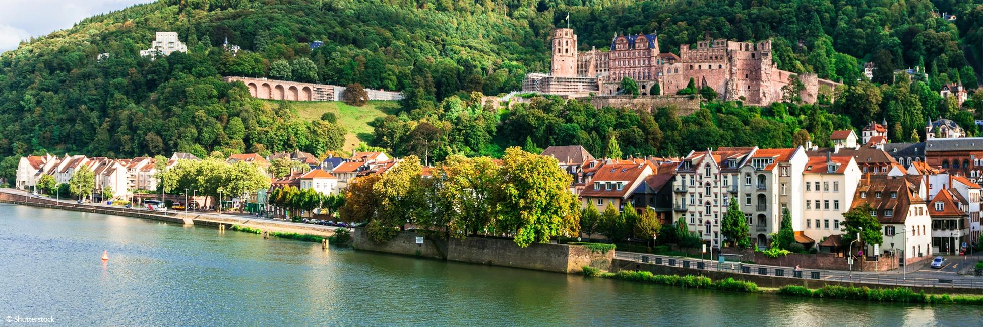4 fleuves : Les vallées du Neckar, du Rhin romantique, de