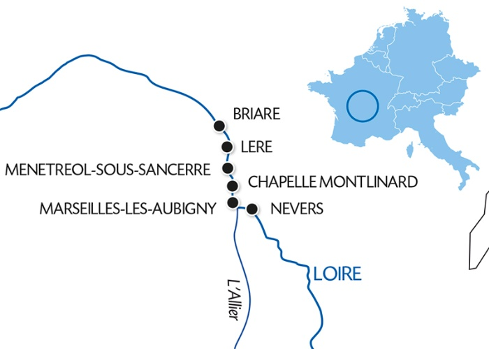 Discover the Loire Canal In the heart of France, charming cities ...