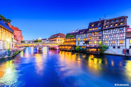 Réveillon rhénan sur les rives du Rhin Supérieur (formule port/port)