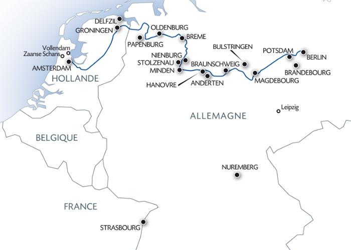 Croisière d'Amsterdam à Berlin (formule port/port) - 13