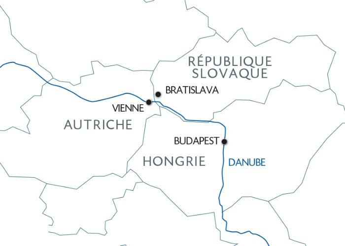 Croisière Les capitales danubiennes : Vienne - Budapest - Bratislava (formule port/port) - 6