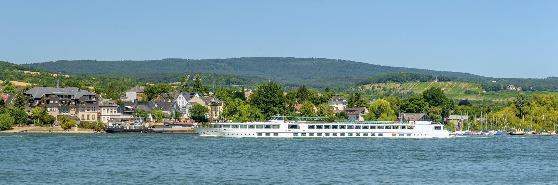 Le MS Victor Hugo sur le Rhin et le Danube