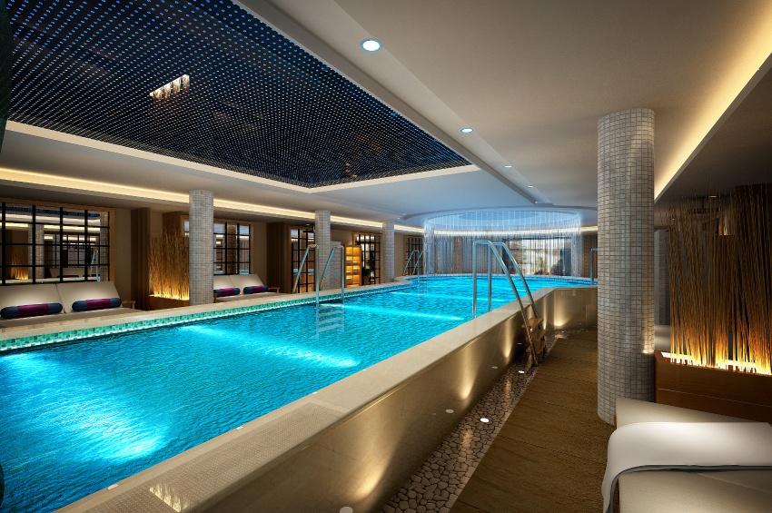 La piscine du RV Legend