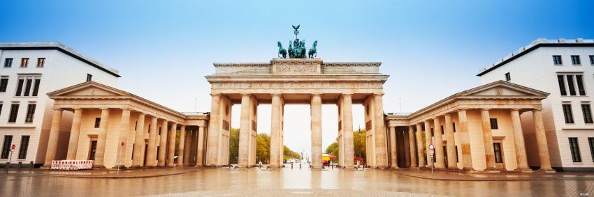 Porte de Brandebourg à Berlin