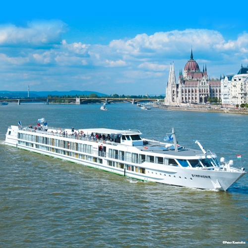 MS Symphonie en navigation à Budapest