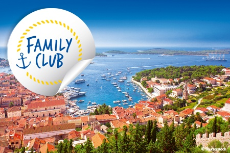 Family Club: Croatia and Montenegro (port-to-port cruise)