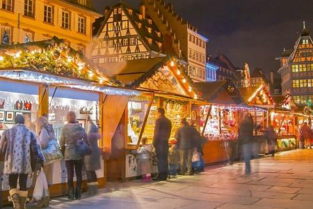 Marchés de Noël en Alsace et en Forêt-Noire (formule port/port)