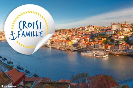 Croisière famille - Porto , la vallée du Douro (Portugal) et Salamanque (Espagne) (formule port/port)