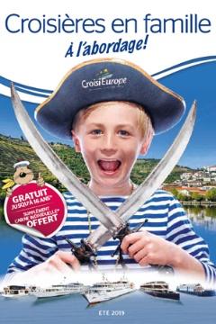 Brochure croisieres famille CroisiEurope 2019