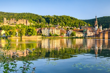 Romantic German Sites and the Charming Neckar Valley