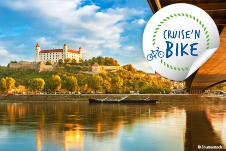 Biking along the Danube (port-to-port cruise)