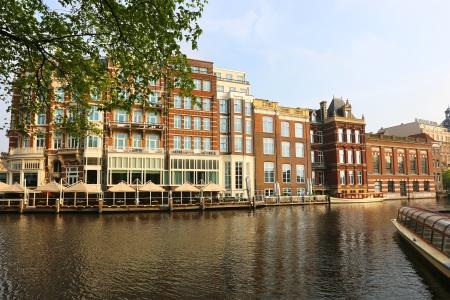 Canaux d'Amsterdam en Hollande