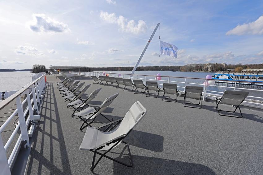 Pont soleil de l'Elbe Princesse II