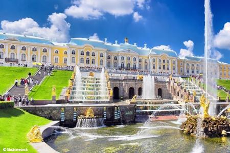 Volga éternelle de Saint Pétersbourg à Moscou (formule port/port)