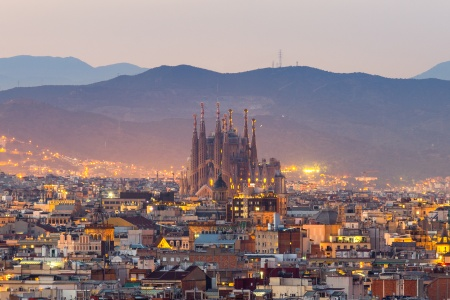 Malaga to Barcelona Following the footsteps of three wondrous Spanish artists : Gaudi, Dali, and Picasso (port-to-port package)