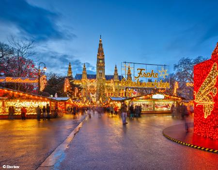 Noël: traditions sur le Danube 3 capitales