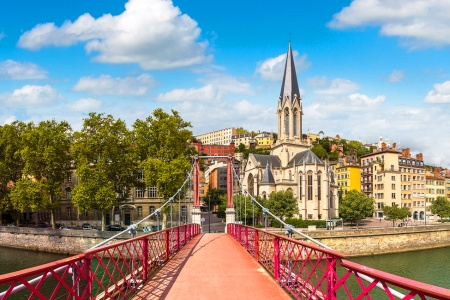 Lyon to the Tip of Provence on the Rhône and Saône Rivers (port-to-port cruise)