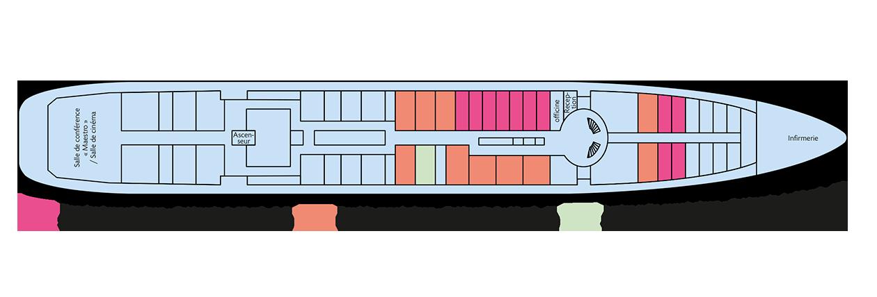 plan du pont principal du Rostropovitch