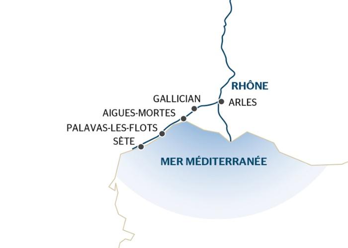 Croisière La Provence : de Arles à Sète (formule port/port) - 9