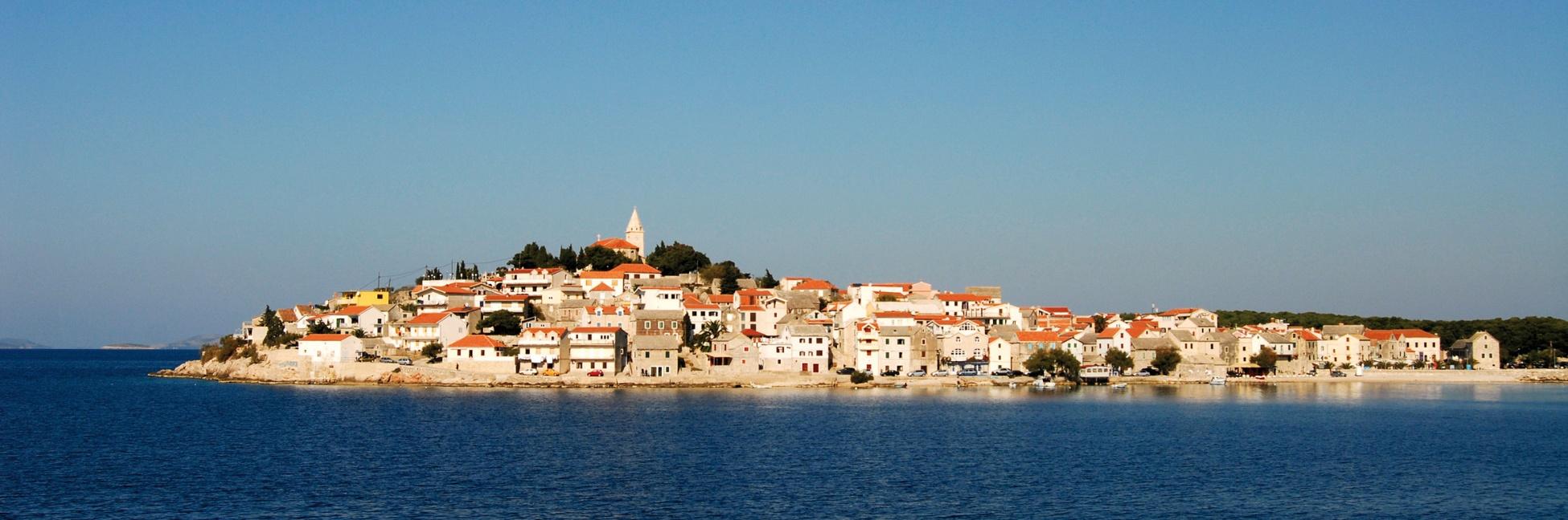 Baie de Primosten en Croatie