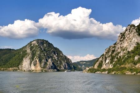 Les portes de fer sur le Danube